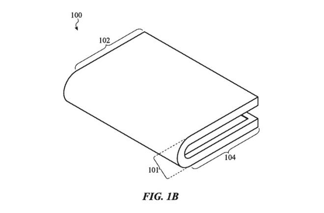 NÓNG: iPhone có màn hình gập lại của Apple lộ diện - 2