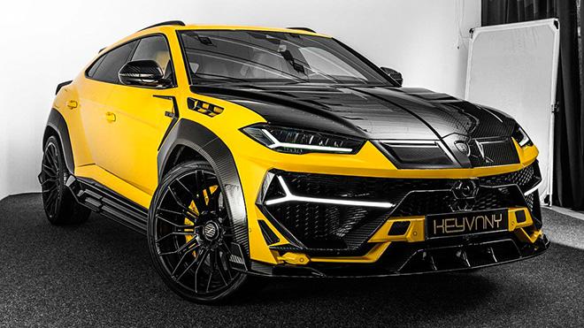 """Siêu SUV Lamborghini Urus được """"lột xác"""" toàn diện trở nên hầm hố hơn - 1"""