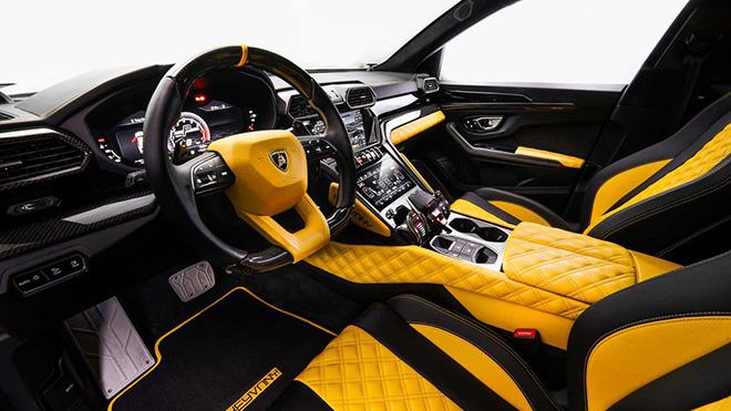 """Siêu SUV Lamborghini Urus được """"lột xác"""" toàn diện trở nên hầm hố hơn - 5"""