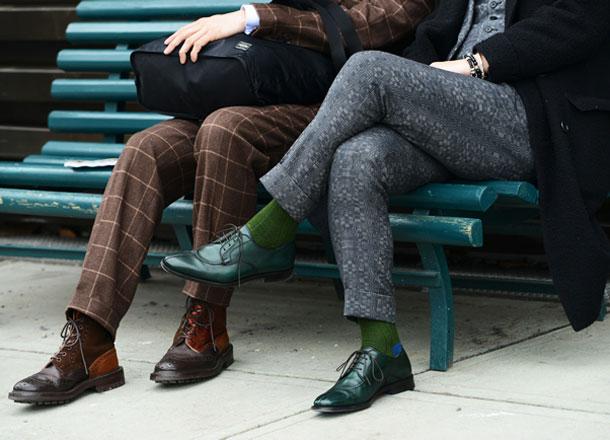 Bí quyết đi giày màu đúng chuẩn mực quý ông - 1