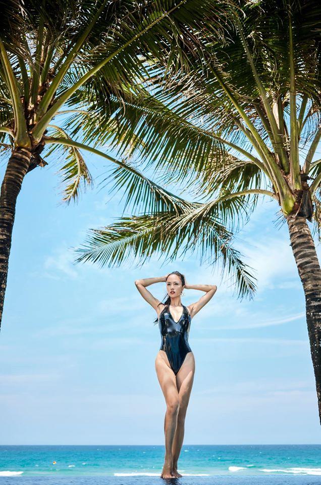 Monokini cut-out của Vũ Ngọc Anh được đánh giá táo bạo, hút mắt - 2