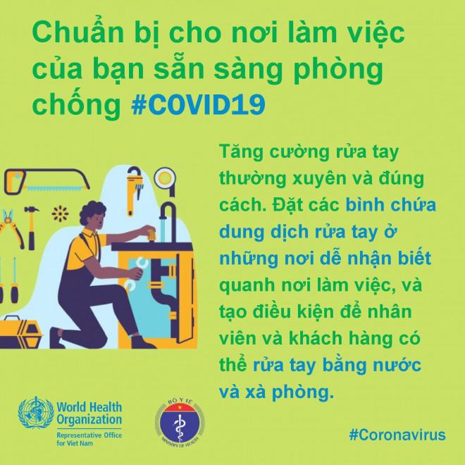 8 điều cần làm để bảo đảm phòng chống Covid-19 ở nơi làm việc - 2