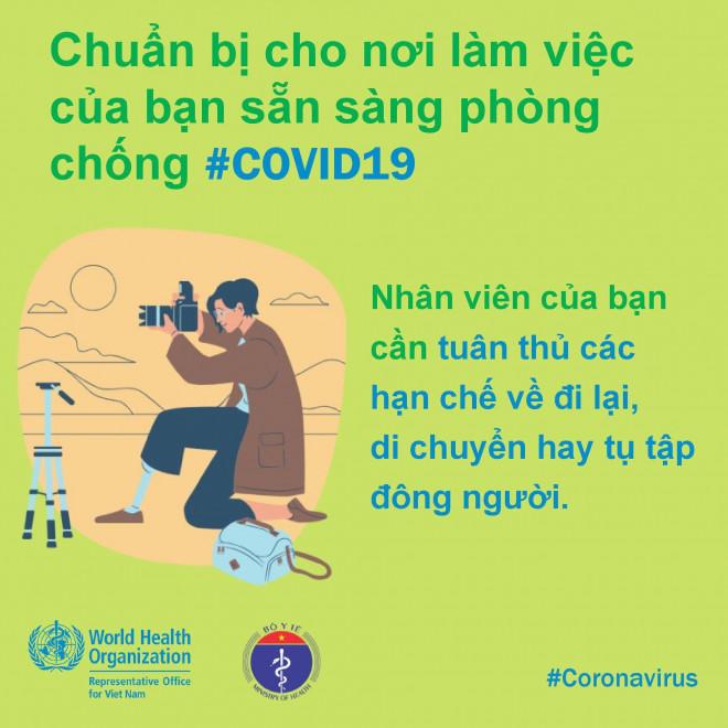 8 điều cần làm để bảo đảm phòng chống Covid-19 ở nơi làm việc - 4