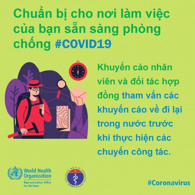 8 điều cần làm để bảo đảm phòng chống Covid-19 ở nơi làm việc - 7