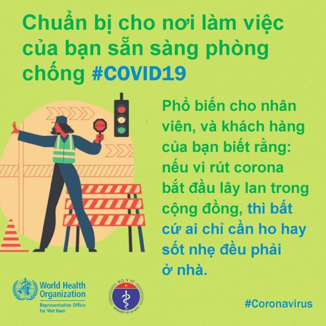 8 điều cần làm để bảo đảm phòng chống Covid-19 ở nơi làm việc - 9