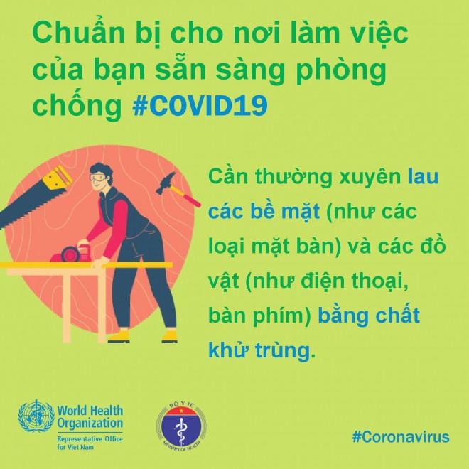 8 điều cần làm để bảo đảm phòng chống Covid-19 ở nơi làm việc - 8