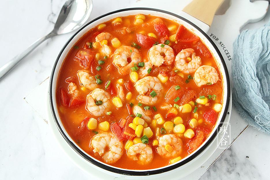 Nấu cà chua với tôm quá bình thường, thêm ngay nguyên liệu này vị ngon tăng lên gấp bội - 1