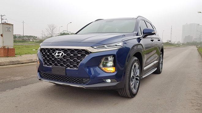 Hyundai Santa Fe giảm giá 30 triệu phiên bản Premium máy dầu - 2