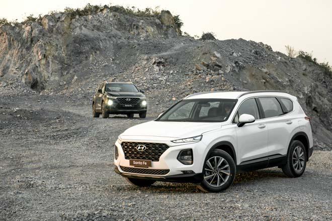 Hyundai Santa Fe giảm giá 30 triệu phiên bản Premium máy dầu - 9