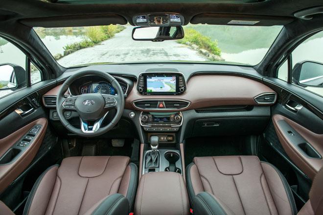 Hyundai Santa Fe giảm giá 30 triệu phiên bản Premium máy dầu - 6