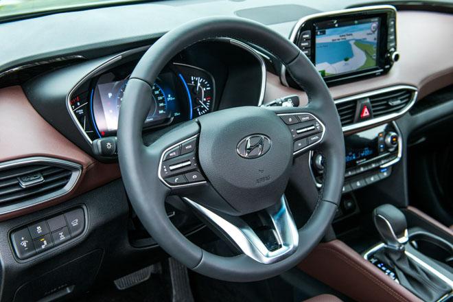 Hyundai Santa Fe giảm giá 30 triệu phiên bản Premium máy dầu - 4
