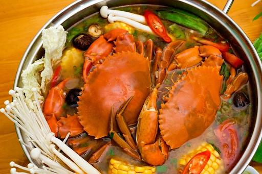 2 cách nấu lẩu cua đồng, biển siêu ngon như ngoài hàng - 3