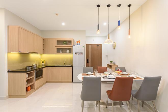 Cận cảnh căn hộ 3 phòng ngủ Lovera Vista đa công năng sử dụng - 5