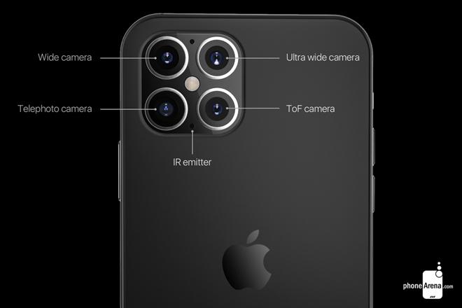 iPhone 12 sẽ bùng nổ camera sau, bản Pro có 4 camera - 3