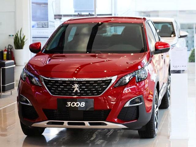 Peugeot 3008 và 5008 có thêm bản giá rẻ và màu sắc mới