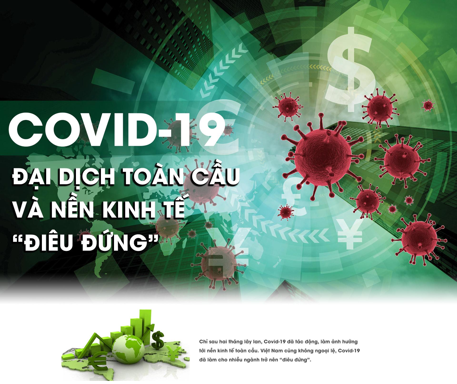 """Covid-19: Đại dịch toàn cầu và nền kinh tế """"điêu đứng"""" - 1"""