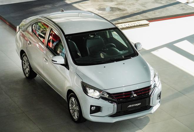 Mitsubishi Attrage phiên bản nâng cấp chính thức ra mắt thị trường Việt - 1