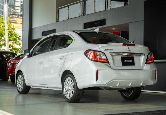 Mitsubishi Attrage phiên bản nâng cấp chính thức ra mắt thị trường Việt - 3