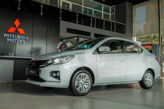Mitsubishi Attrage phiên bản nâng cấp chính thức ra mắt thị trường Việt - 5
