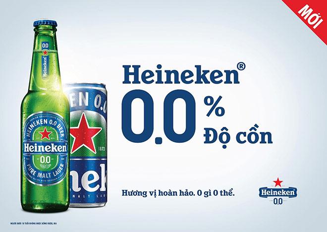 HEINEKEN ra mắt heineken 0.0 với 0.0% độ cồn, chỉ chứa 69 calo mỗi chai - 1