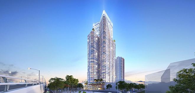 Sắp xuất hiện tổ hợp căn hộ và khách sạn 5 sao là biểu tượng mới của Bình Dương - 1
