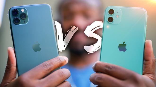 Chọn iPhone 11 hay iPhone 11 Pro khi chênh nhau 9 triệu đồng? - 1