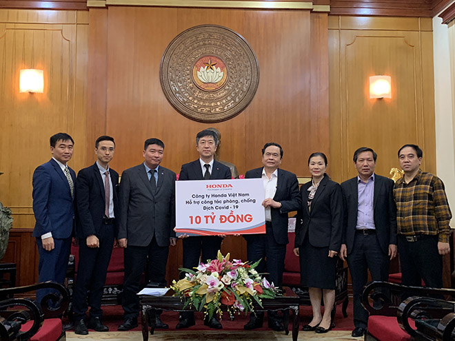 Honda Việt Nam chung tay cùng Chính phủ phòng chống dịch Covid-19 tại Việt Nam - 1