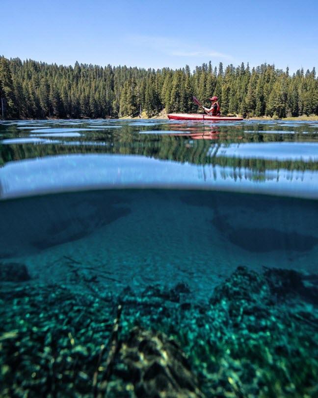 Khám phá hồ nước ẩn chứa cả khu rừng cổ xưa - 4