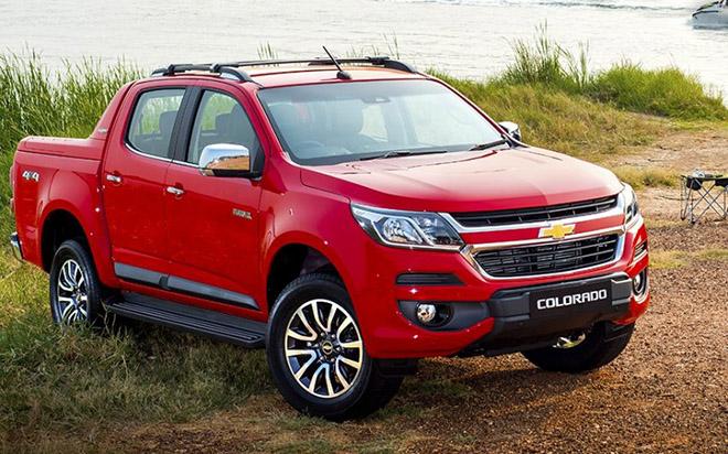 Bán tải Chevrolet Colorado giảm giá hơn 150 triệu đồng