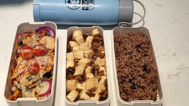 Hộp cơm trưa chay truyền cảm hứng của cô gái Hà Nội - 2