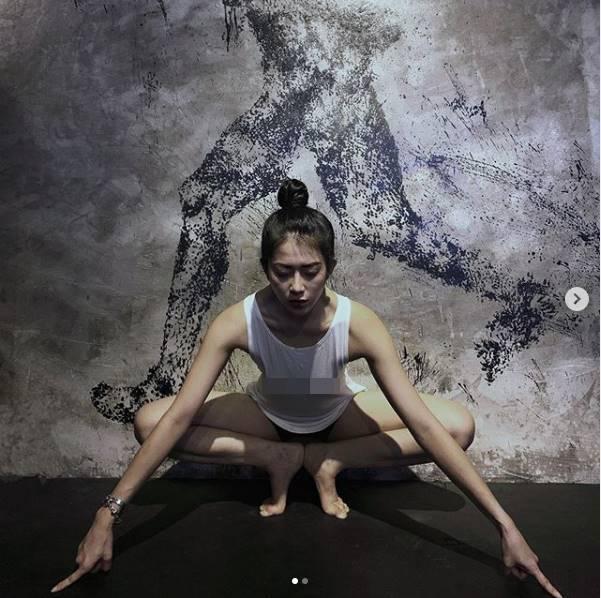 Không trang phục phòng hộ khi đi tập gym, cô gái Việt hot trên Instagram - 6