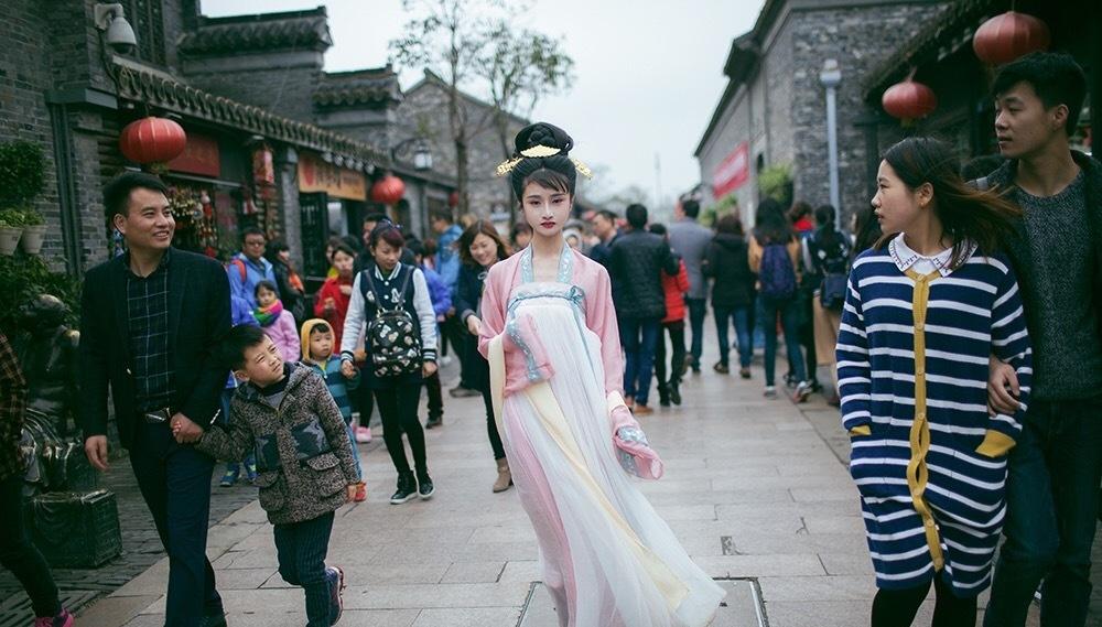 """Xu hướng mặc Hán phục của những """"tiên cô"""" Trung Quốc - 4"""