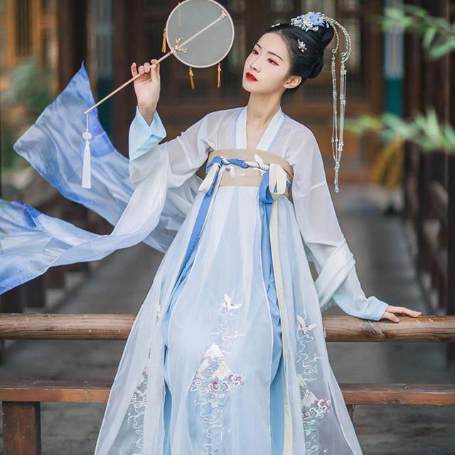 """Xu hướng mặc Hán phục của những """"tiên cô"""" Trung Quốc - 2"""