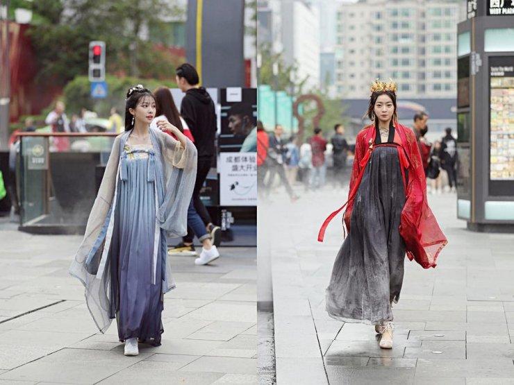 """Xu hướng mặc Hán phục của những """"tiên cô"""" Trung Quốc - 3"""