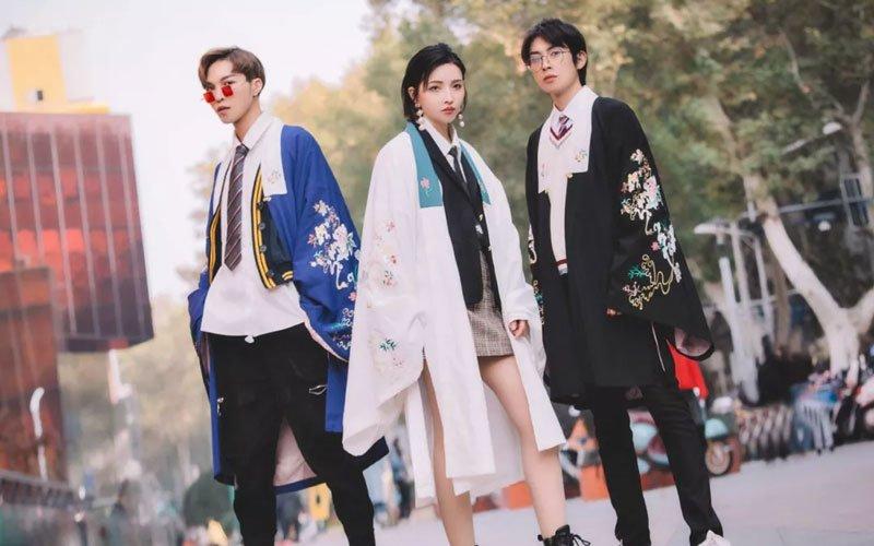 """Xu hướng mặc Hán phục của những """"tiên cô"""" Trung Quốc - 9"""