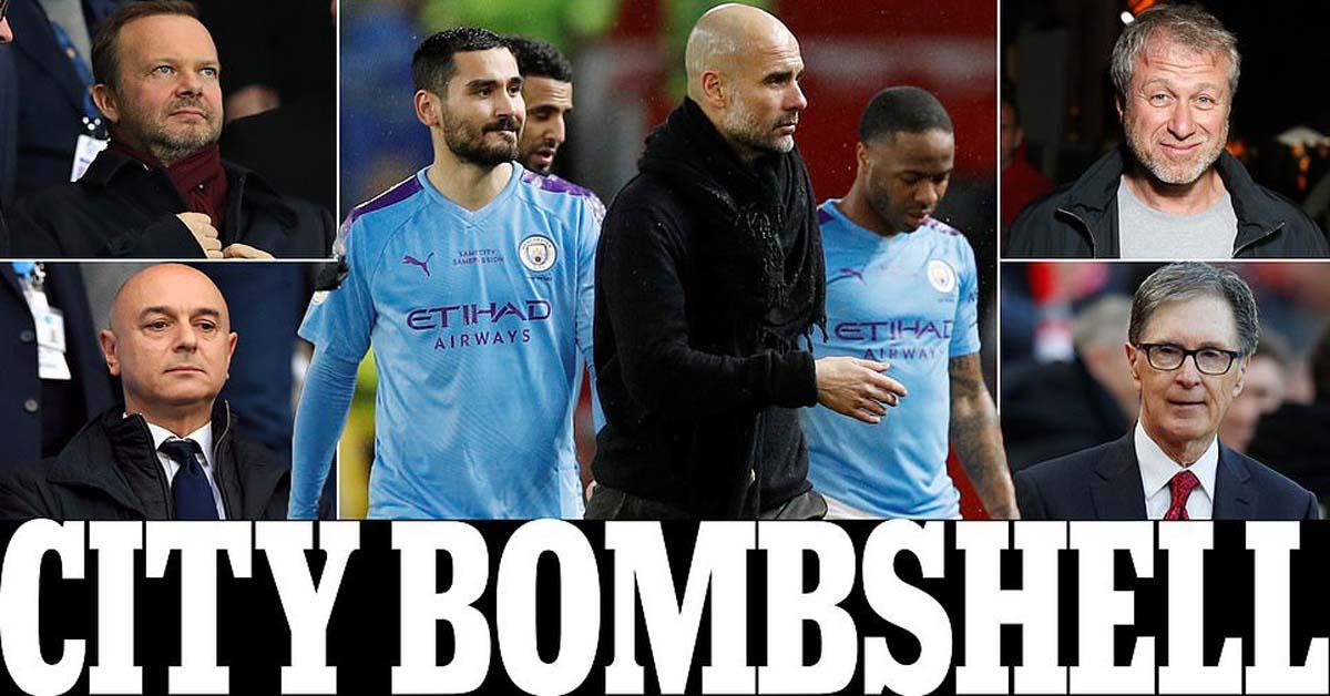 """Chấn động Ngoại hạng Anh: MU, Liverpool & 6 đội """"đánh hội đồng"""" Man City"""