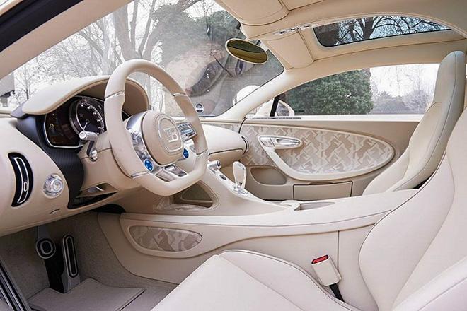 Siêu phẩm Bugatti Chiron Hermet Edition, tác phẩm có một không hai - 6