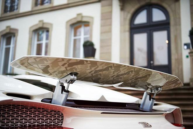 Siêu phẩm Bugatti Chiron Hermet Edition, tác phẩm có một không hai - 12