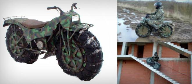 """Xe quân sự """"ma thuật"""" của Nga, leo nhà tầng, chạy sình lầy cực ngầu - 1"""