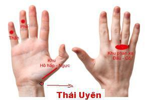 Cách xoa cổ tay chữa ho khan, bấm huyệt lòng bàn tay trị ho có đờm - 5