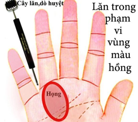 Cách xoa cổ tay chữa ho khan, bấm huyệt lòng bàn tay trị ho có đờm - 6