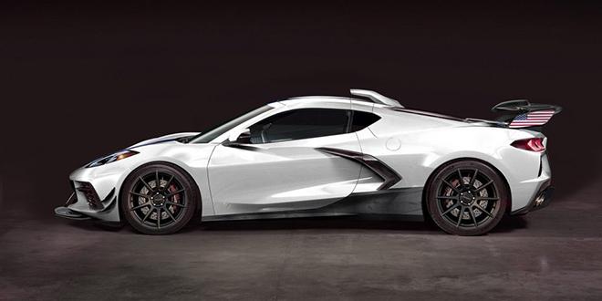 """Siêu xe """"bình dân"""" Corvette C8 lột xác với gói độ 1.200 mã lực - 2"""