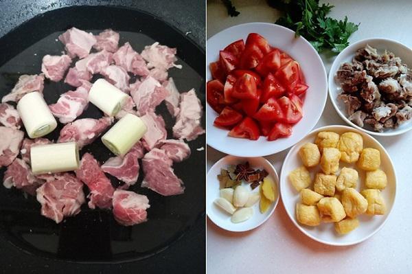 Bữa tối hao cơm với món bò om cà chua mềm ngon - 1