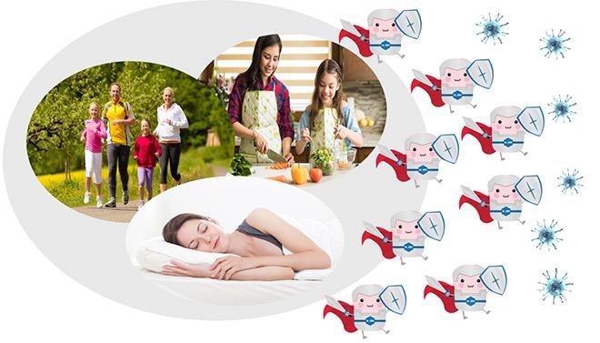 Những điều cần làm ngay để tăng đề kháng, phòng bệnh trong mùa dịch - 3