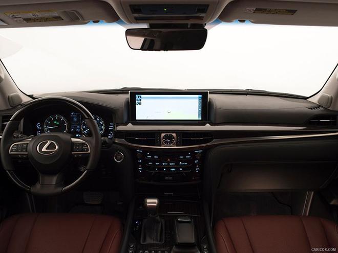 Lexus LX 2022 được phát triển hệ thống tăng áp kép bổ sung trên động cơ V6 và V8 - 5