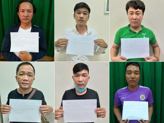8 đối tượng bắt giữ người trái pháp luật sa lưới