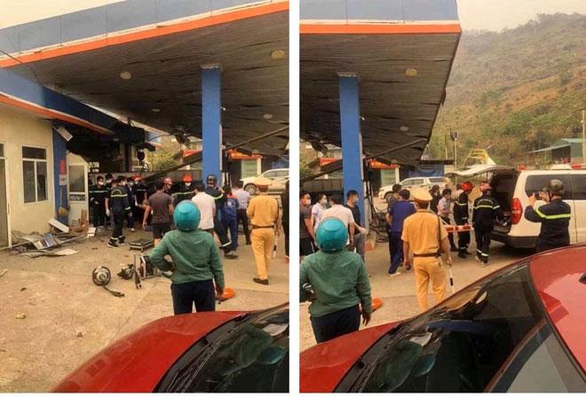 Lai Châu: Ôtô tảimất láihúc đổ cây xăng, 6 người thương vong - 2