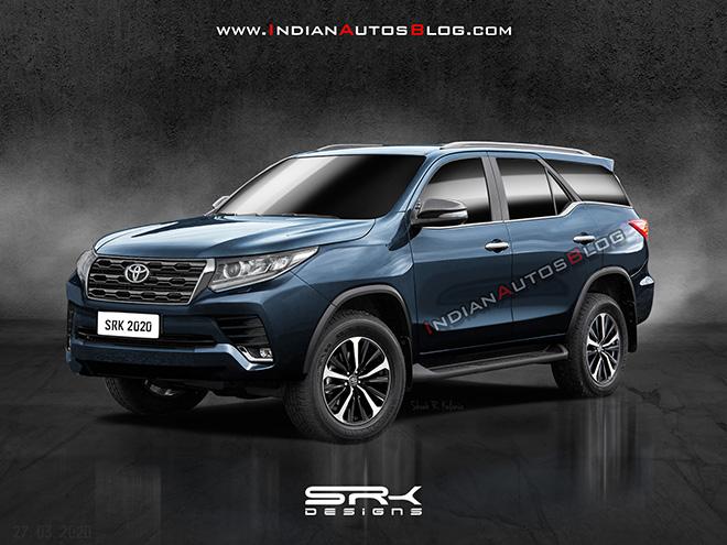 Toyota fortuner 2021 thay đổi nhiều về thiết kế dự kiến ra mắt cuối năm nay