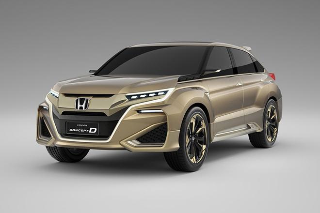 Honda ra mắt phiên bản nâng cấp mẫu suv đàn anh của cr-v