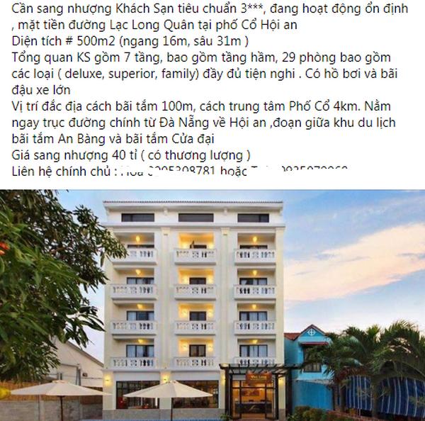Giữa dịch Covid-19: Sang nhượng 2 khách sạn hơn 70 phòng với giá 0 đồng tại Hà Nội - 1